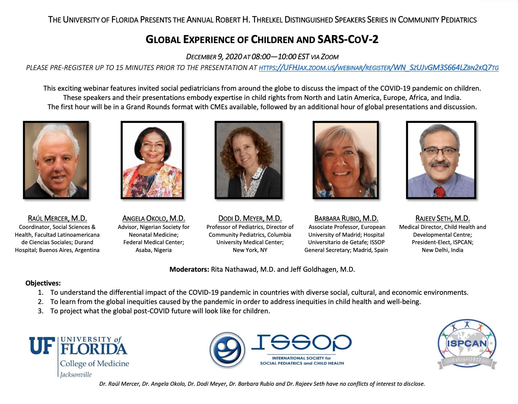 Pediatric Bioethics Conference flier